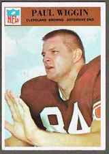 1966 Philadelphia Football Card #51 Paul Wiggin RC -  50-years old, see pics!