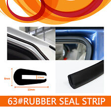3M U Shape Rubber Edging Trim Strip Seal Door Trunk Edge Protection Dust Proof