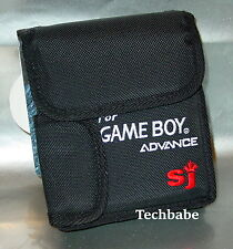 New Gameboy ADVANCE CARRY CASE (holds system games +ac)