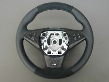 ALCANTARA M-VOLANTE IN PELLE BMW 6 Series e63, e64 STEERING WHEEL CON MASCHERINA