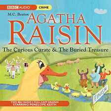 AGATHA RAISIN: The Curious Curate & The Buried Treasure by M C Beaton
