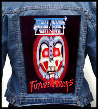 ATOMKRAFT - Future Warriors  --- Huge Jacket Back Patch Backpatch