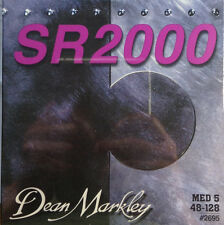 Dean Markley 2695 SR2000 5-String Bass Guitar Strings MED5  48-128
