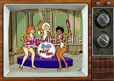 "JOSIE & THE PUSSY CATS TV Fridge MAGNET 2"" x 3"" art SATURDAY MORNING CARTOONS"