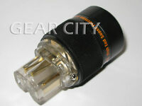 ppl70 Gold IEC C13 Mains Power Plug Female Copper Connector Cable Cord HiFi