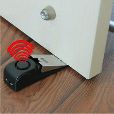 Door Stop Alarm Portable Wireless Travel Safe Trigger Alert System 120DB CATS