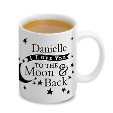 I Love You to the Moon and Back Mug - Personalised