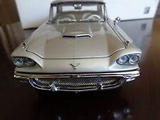 1958 FORD THUNDERBIRD COUPE LIMITED EDITION DANBURY MINT 1/24 NICE USED