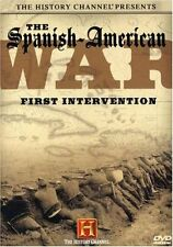 SPANISH-AMERICAN WAR: FIRST INTERVENTION (HISTORY CHANNEL) VERY RARE NEW/SEALED