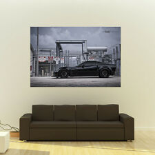 Chevy C6 Corvette Grand Sport on 360 Forged wheels Poster Huge 54x36 Inch Print
