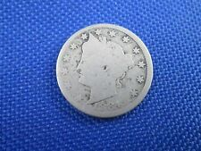 1884 U.S. 5 CENT LIBERTY V NICKEL COIN