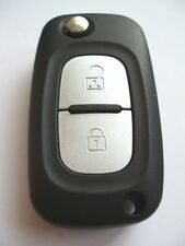 Replacement 2 button flip key case for Renault Clio Modus Kangoo remote