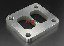"""T4 GT3788R GT4088R GT4094R GT45 Divided Turbo Inlet FLANGE Stainless Steel 1/2"""""""