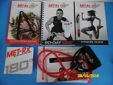 Met-RX 180 Transforming Every Body Fitness Exercise DVD Set Workout Program