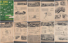 HOME PLANNERS POLLMAN 115 PLANS MODERN ATOMIC RANCH EICHLER MID CENTURY VERY HTF