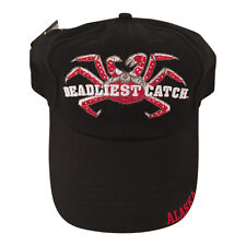Alaska's Deadliest Catch, Red Gold Ball Cap Adult OSFA Hat