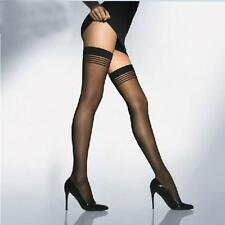 Women Tights Stay-Up Stripes Thigh-highs Pantyhose Stockings
