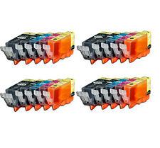 20 Printer Ink + Chip for Canon PGI-220 CLI-221 MX860 MX870 iP3600 iP4700 MP620