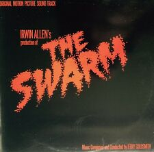 THE SWARM - Jerry Goldsmith OST 1978 LP MINT