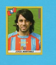 PANINI CALCIATORI 2007-2008- Figurina n.69- MARTINEZ - CATANIA -NEW
