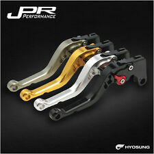 JPR RACING BRAKE AND CLUTCH LEVERS SET HYOSUNG GT-650R 2006-2009 - JPR-88