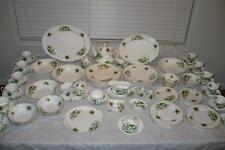 110pc.Royal Albert Trillium England Bone China  Dinner Service for 12 + Serving