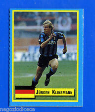 TOP MICRO CARDS - Vallardi 1989 - Figurina-Sticker - KLINSMANN - INTER