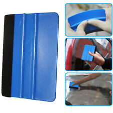 Squeegee Vinyl Film Decal Sticker Wrapping Tool Scraper Felt Edge Car 2pc Set $$