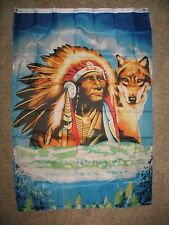 3x5 Native American Indian Wolf Flag 3'x5' Banner Brass Grommets