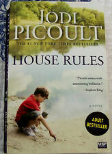 JODI PICOULT, HOUSE RULES. PAPERBACK NOVEL, 2010.