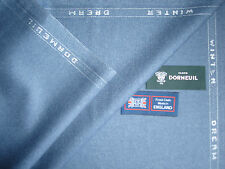 DORMEUIL80%WOOL &20% SILK WORSTED JACKETING FABRIC Winter Dream By Dormeuil-2.0m