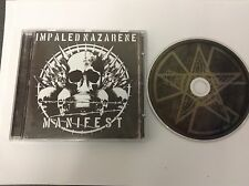 Manifest 2008  Import by Impaled Nazarene RARE CD - MINT