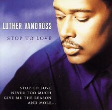New: LUTHER VANDROSS - Stop to Love CD