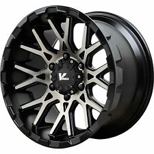 V-Rock Recoil VR10 18x9.5 6x139.7 (6x5.5) -5mm Black Tint Wheels Rims