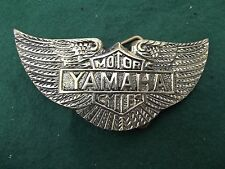 SOLID BRASS YAMAHA MOTOR CYCLES BELT BUCKLE
