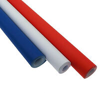 Poster Paper Assortment - Red, White and Blue - 3 Rolls of Vivid Coloured Poster