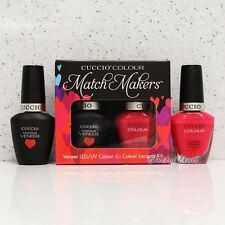 CUCCIO Veneer Match Makers - COSTA RICAN SUNSET 6018 Gel & Nail Lacquer Duo Kit