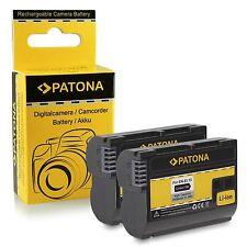 X2 batterie enel15 per nikon D800 NIKON D800E D810A NIKON D8000 en-el15 1600m