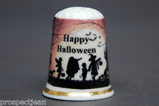 Happy Halloween Party China Thimble B/142