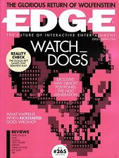 EDGE #265 4/2014 WATCH DOGS Return of Wolfenstein IF KICKSTARTER GOES WRONG @New