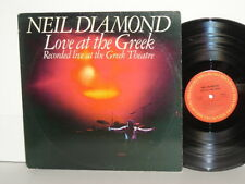 NEIL DIAMOND Love At The Greek Robbie Robertson Sweet Caroline Song Sung Blue
