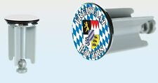 Freistaat Bayern Waschbecken-Stöpsel Stopfen Waschtisch Waschbeckenstöpsel