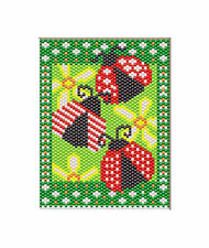 Three Itty-Bitty Bugs~Beaded Banner Pattern Only