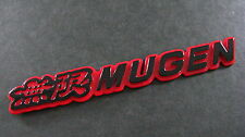 Mugen Badge RED BLACK CIVIC INTERGA S2000 TYPE R VTEC