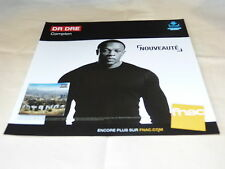 DR DRE - COMPTON !!!!!!!!!FRENCH RECORD STORE PROMO ADV / DISPLAY