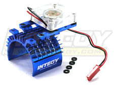 Integy Aluminum 540/550 Super Motor Heatsink w/ Cooling Fan C22470BLUE