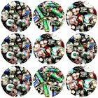 50 Pcs Mixed Cloisonne Flowered Metal Beads - Round - Tube - Heart Spacer - ML