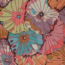 Kaffe Fassett Lotus Leaf PWGP029-Mauve Cotton Fabric Spring 2015 Collection BTY