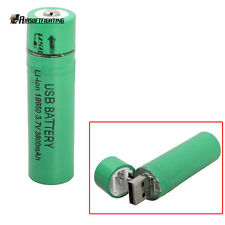 1X USB Rechargeable 18650 Battery GOREAD 3.7V 3800 mAh Rechargeable Battery