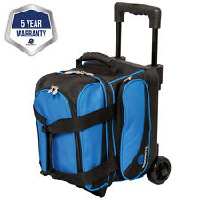 Ebonite Transport Black/Blue 1 Ball Roller Bowling Bag
